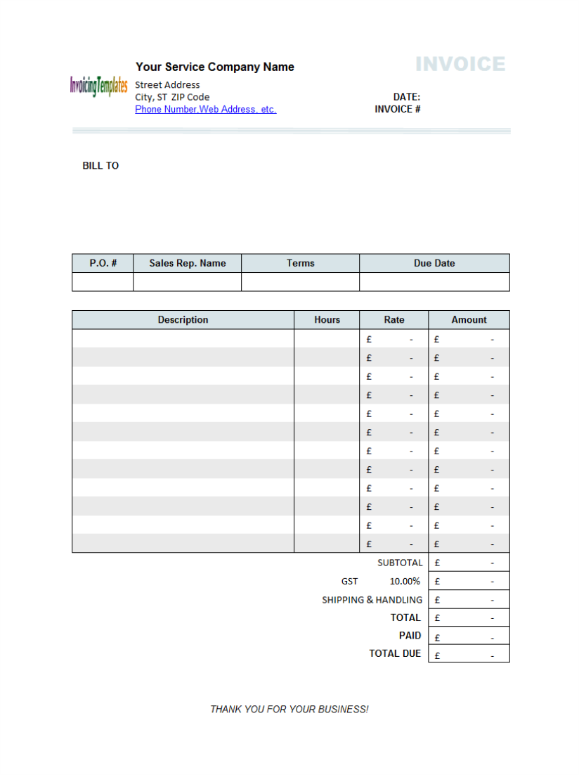 Sample purchase order form 10 results found uniform for Buy invoice template