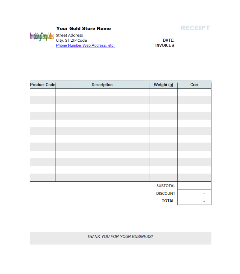 microsoft word invoice template download graphic receipt template studio design gallery 23652 | receipttemplategold1