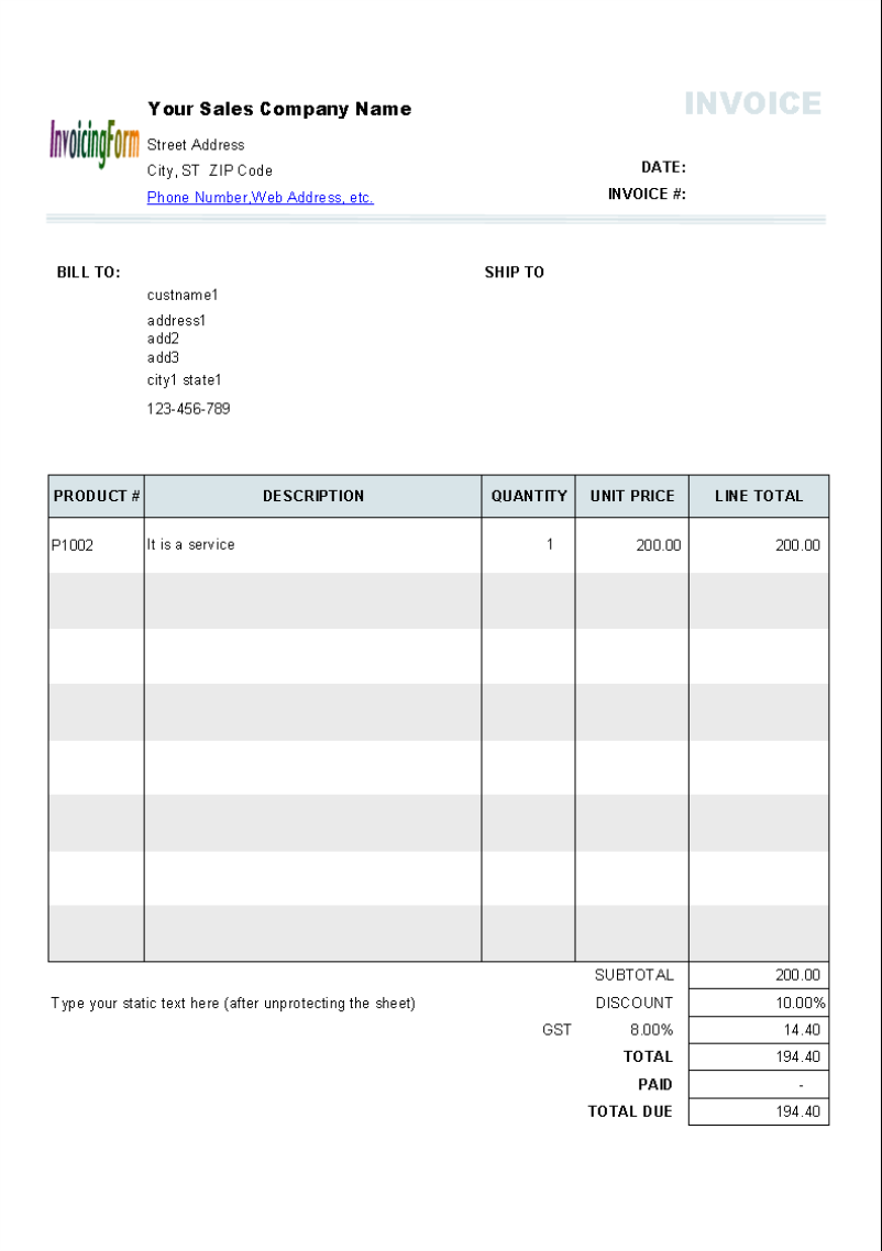 free tax invoice. tax invoice layout. new zealand tax invoice, Invoice templates
