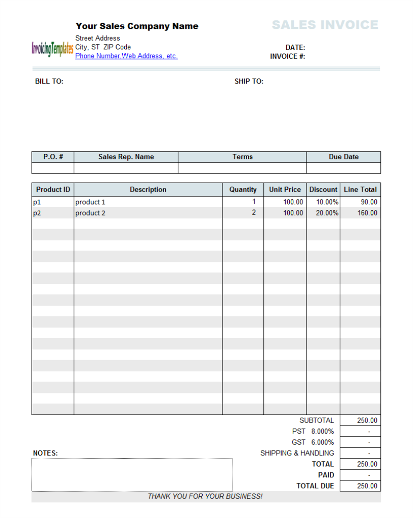 Handyman Invoice Forms Operlyinginfo - Printable handyman invoice