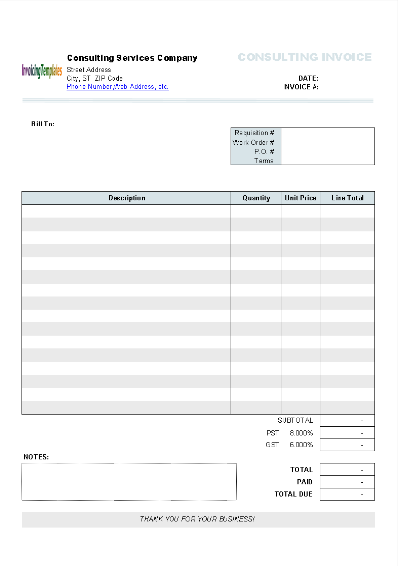 Doc572739 Microsoft Word Free Invoice Template Invoice – Free Online Invoice Template Word