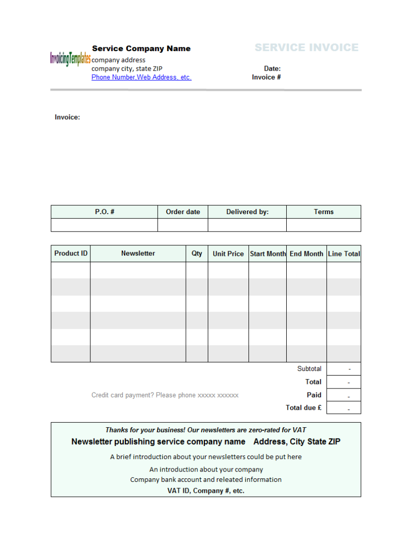 pin machine invoice excel on pinterest