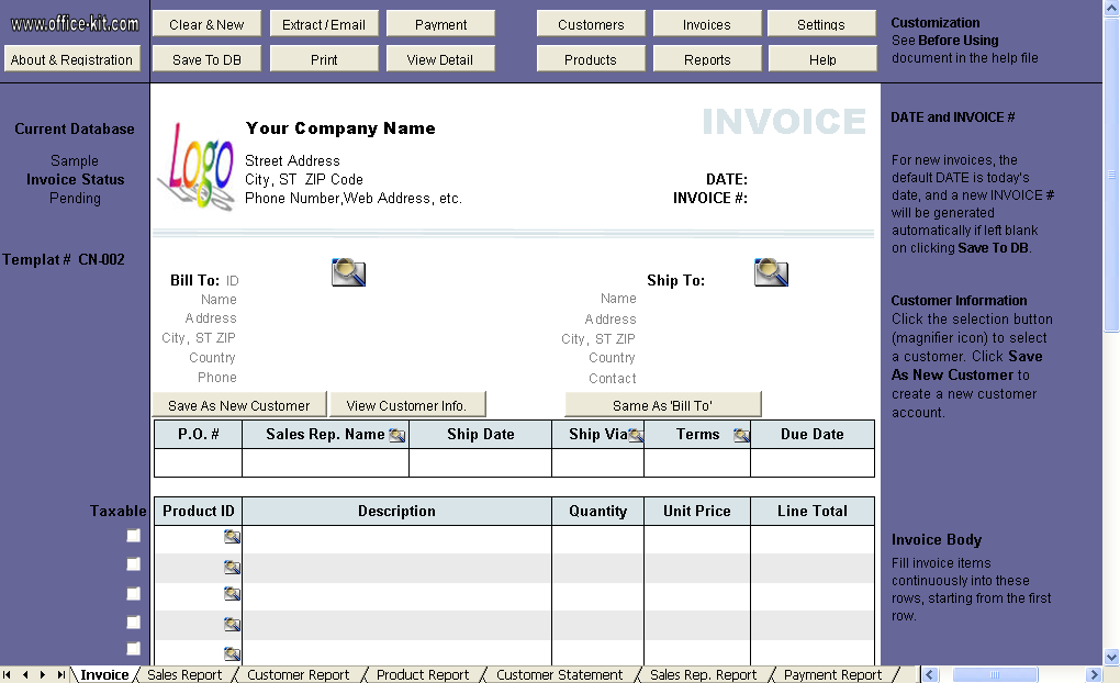 Show Word 'Free' for Gifts - Uniform Invoice Software edition